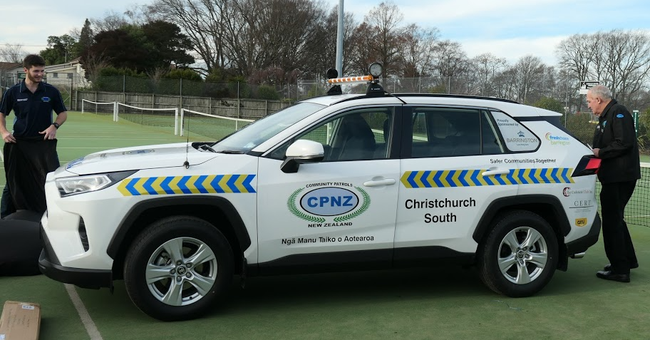 Christchurch South's new patrol car